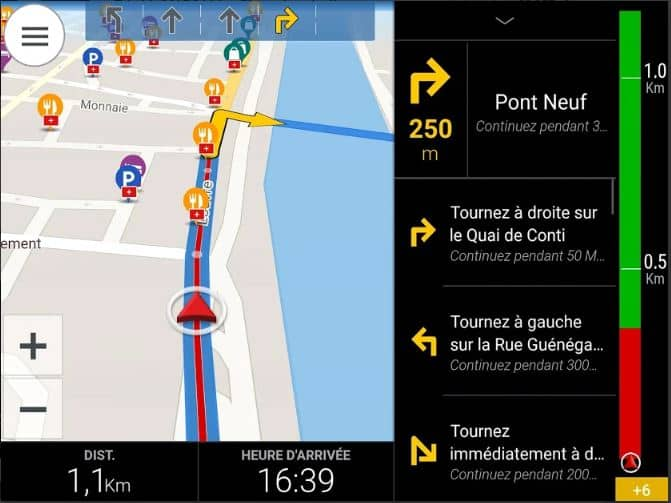Application CoPilot GPS