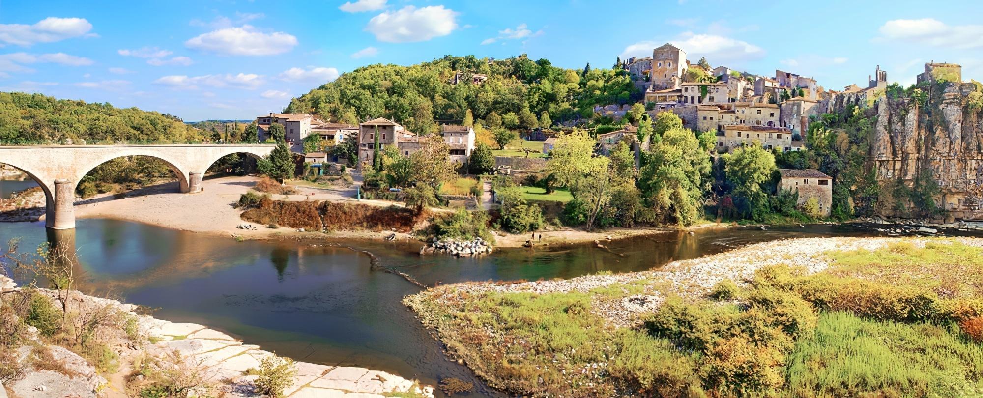 Panorama de Balazuc