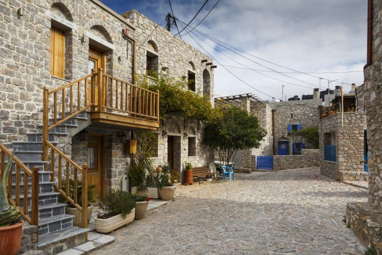 Village d'Avgonima, Chios