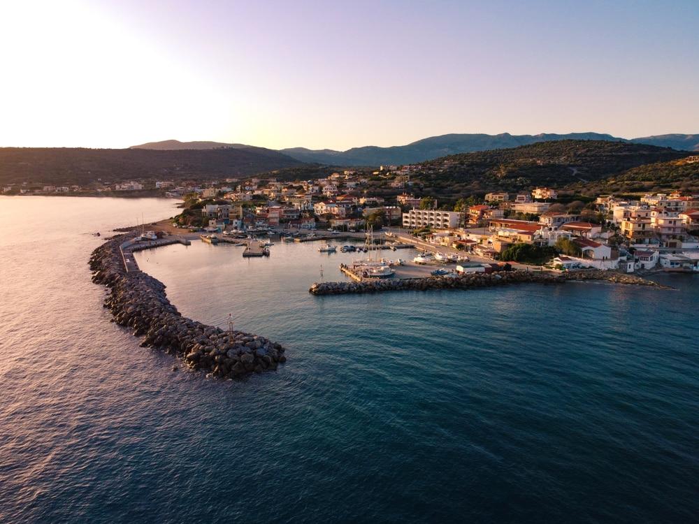 Balade en bateau à Chios