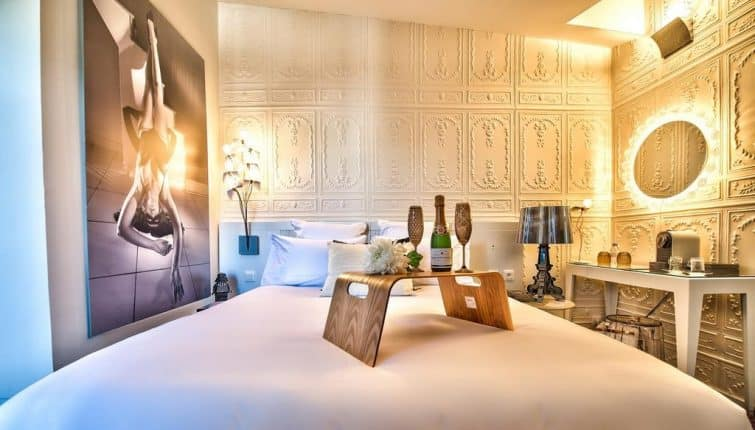 Chambre à l'hôtel des Beaux Arts, Toulouse