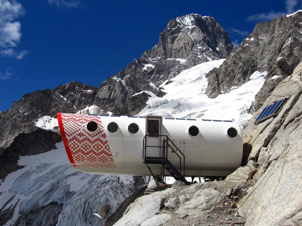Bivouac Gervasutti, refuge de montagne en Italie