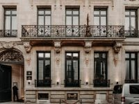 Façade boutique-hôtel Palais Gallien