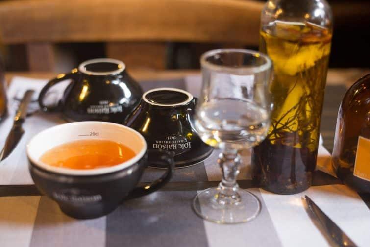 Un bol de cidre breton