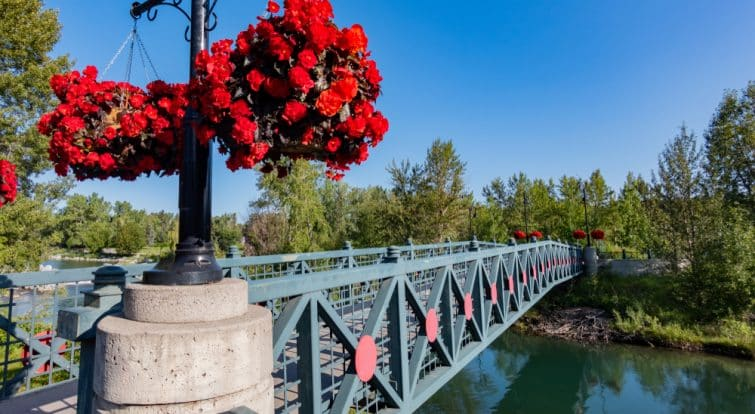 Le pont du Prince's Island Park