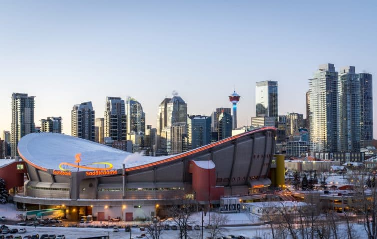 La Scotiabank Saddledome