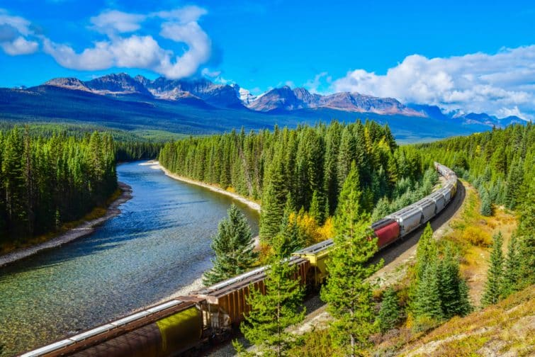 Le train du Rocky Mountaineer