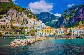 À visiter en Campanie : Amalfi