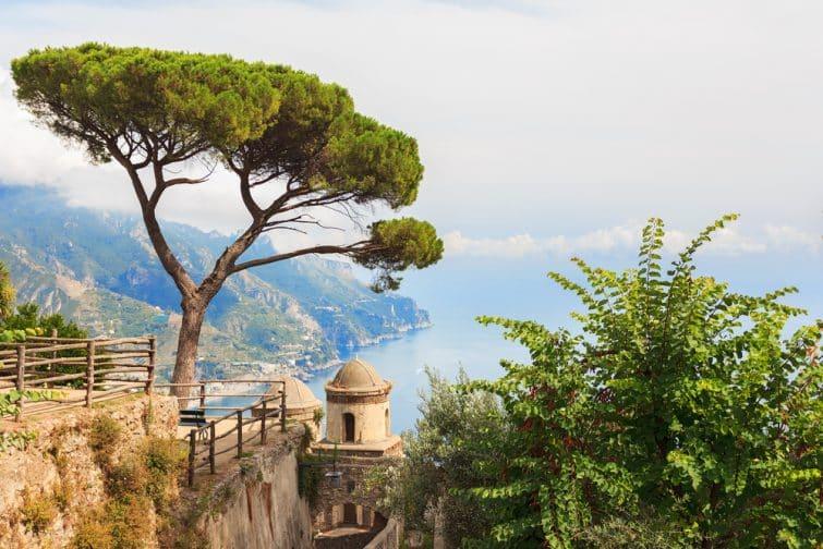 La ville d'Amalfi