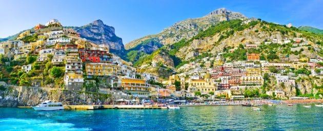 Positano, incontournable à visiter en Campanie