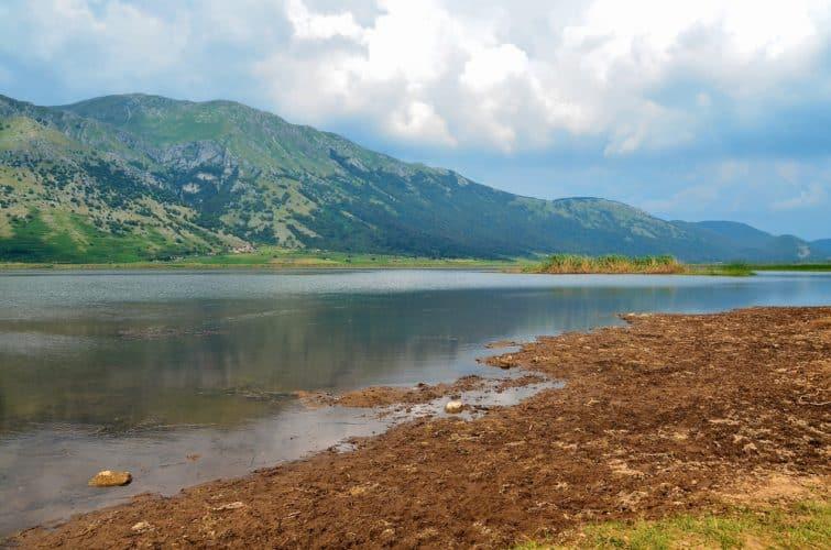 Le lac Matese