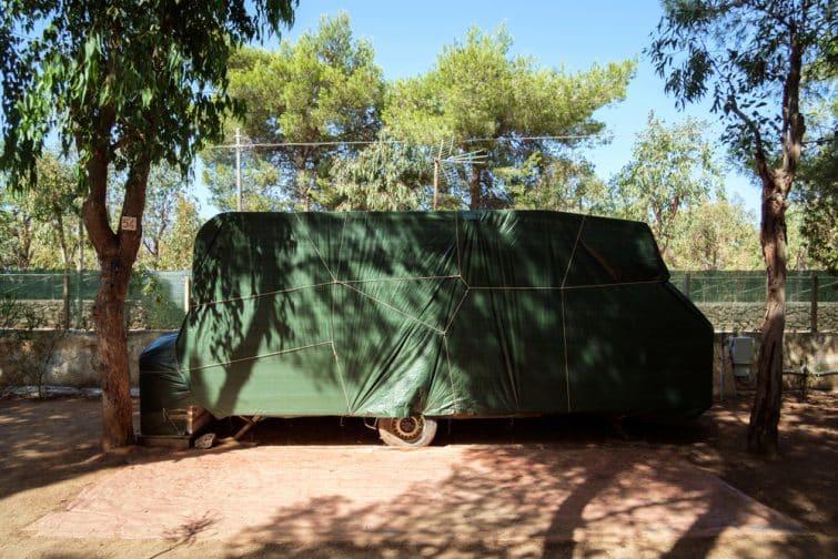 Housse de camping-car