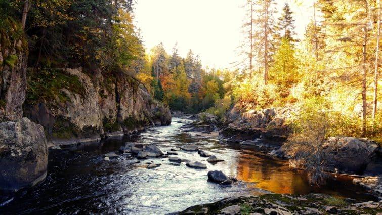 L'automne à Chicoutimi