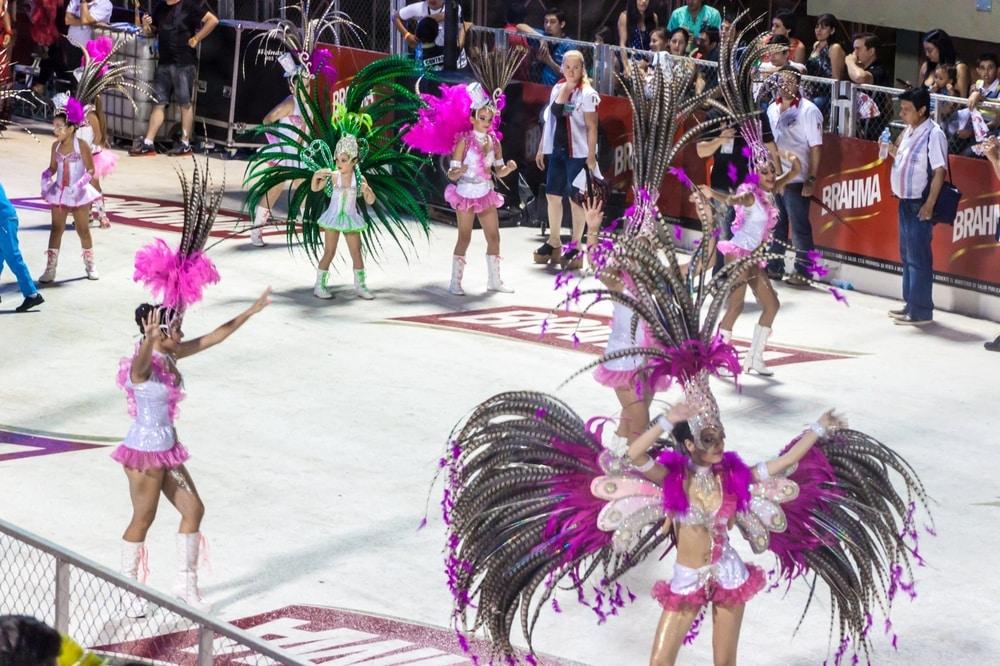 Carnaval à Encarnación, Paraguay