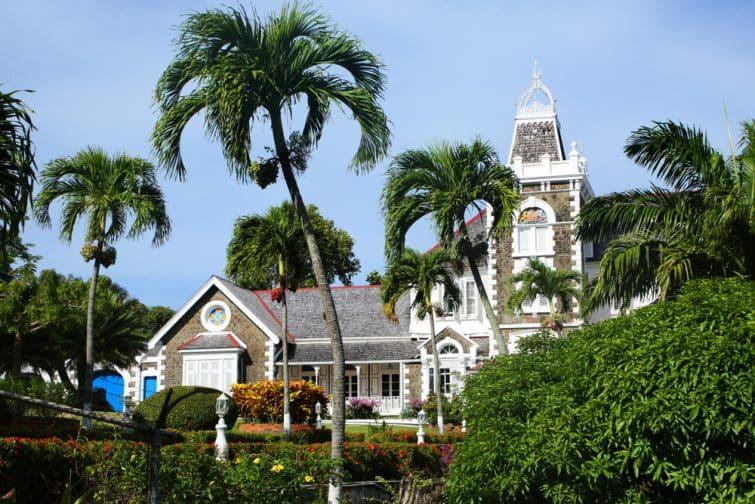 La maison du gouvernement, bâtiment colonial