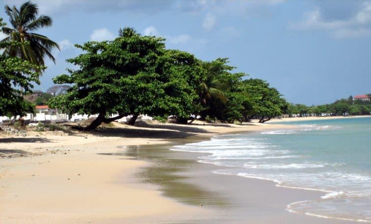 Vigie Beach, près de Castries