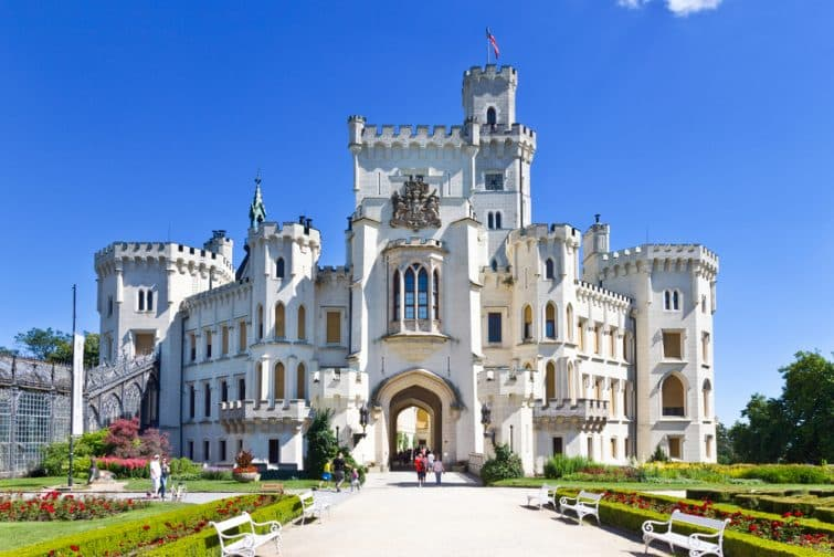 Château près de Ceske Budejovice