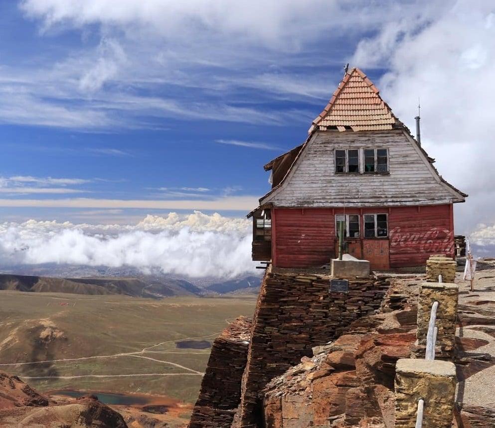 Chacaltaya Lodge, La Paz, Bolivie
