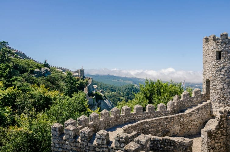 Remparts du château des Maures, Sintra