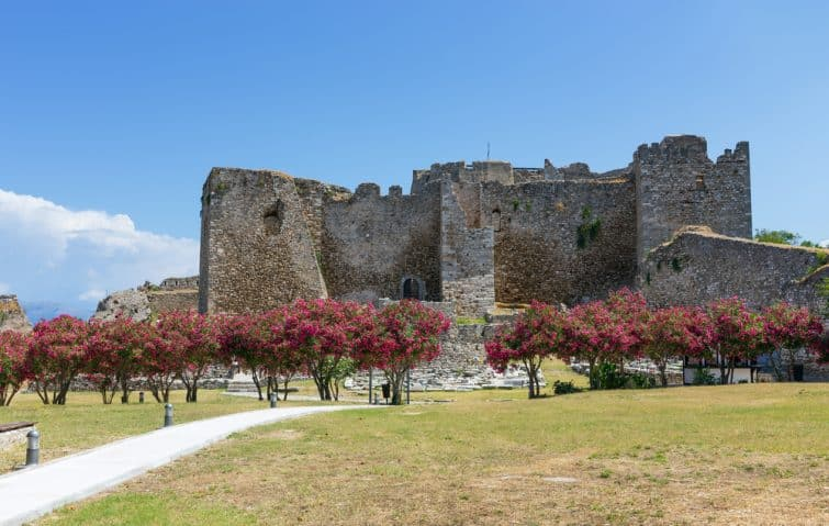 chateau médiéval patras