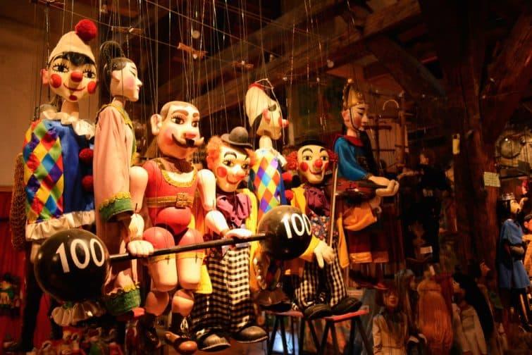 Musée des Marionnettes, Cesky Krumlov