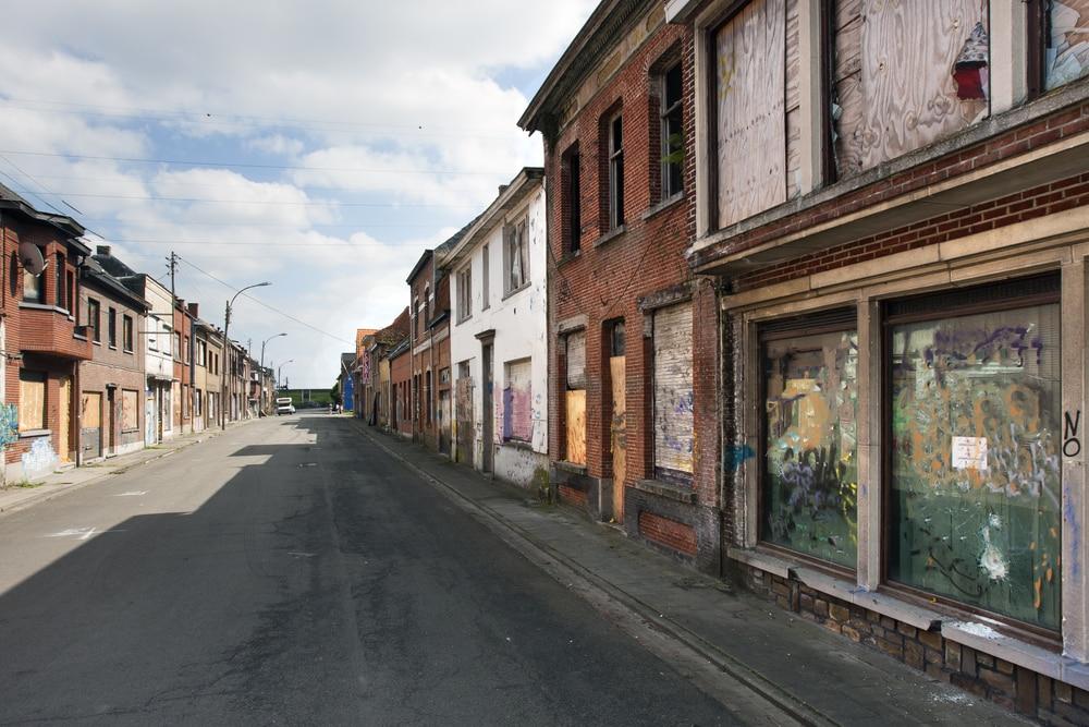 Ville fantôme de Doel, Belgique