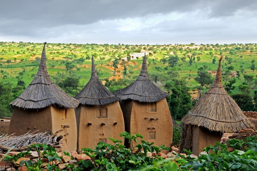 Village Dogon, Mali