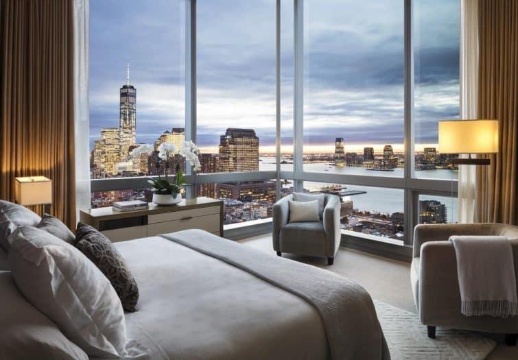 Chambre avec vue, Dominick Hotel, New York