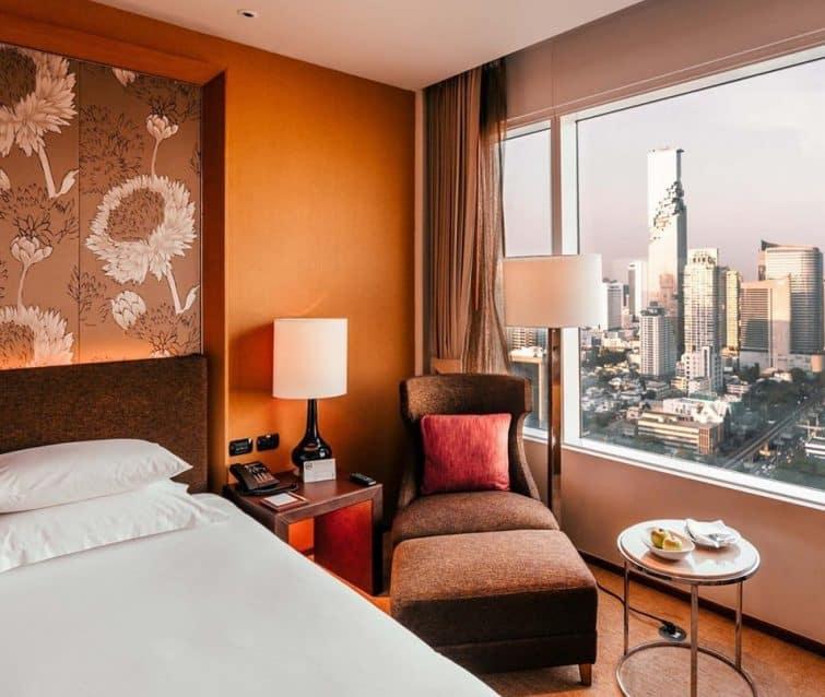 Chambre avec vue à l'Eastin Grand Hotel Sathorn