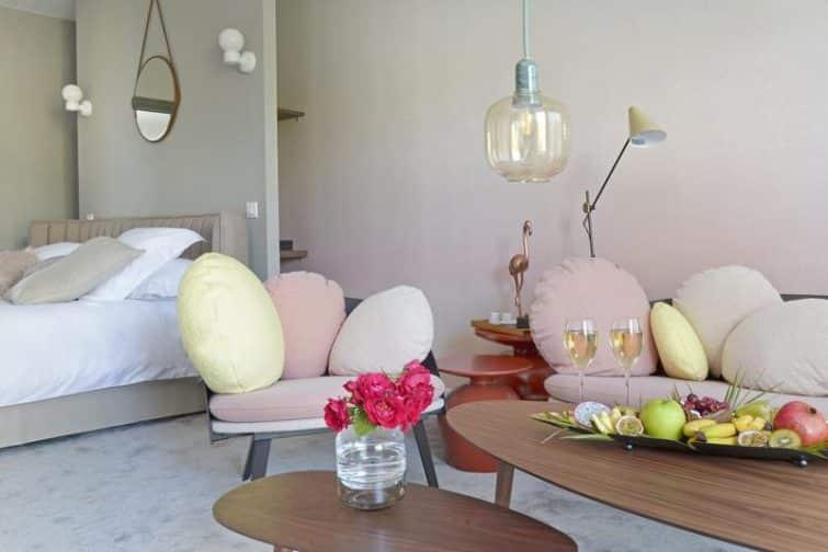 Chambre à l'hôtel en marge à Toulouse