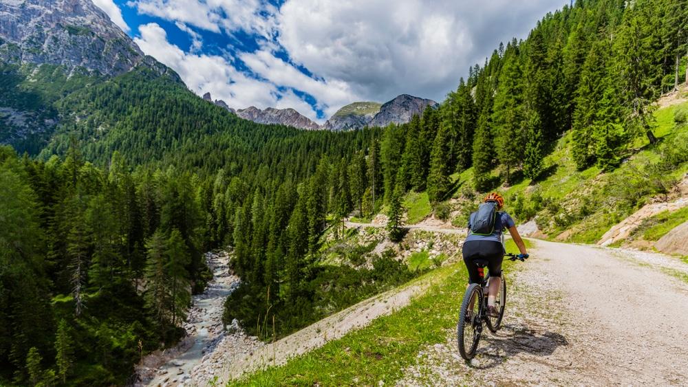 Parcours dans les Dolomites