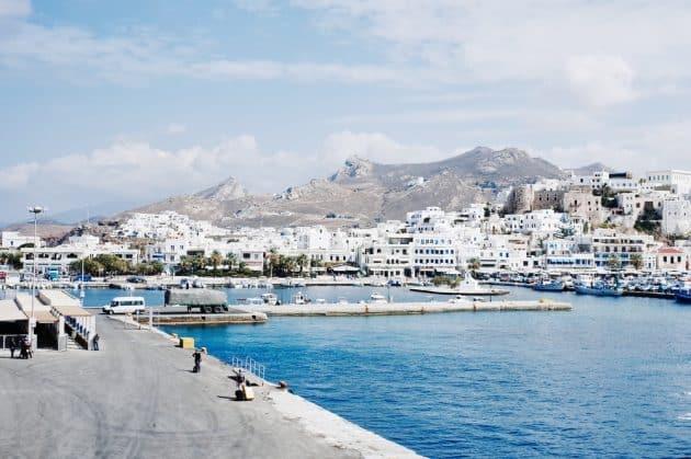Comment aller à Naxos depuis Mykonos en ferry ?