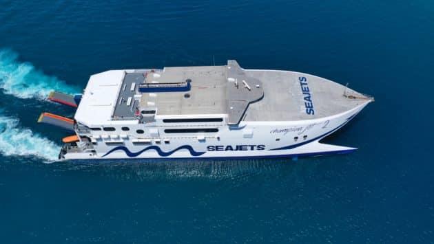 Comment aller à Syros depuis Athènes en ferry ?