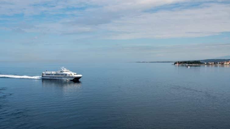 ferry zadar en mer