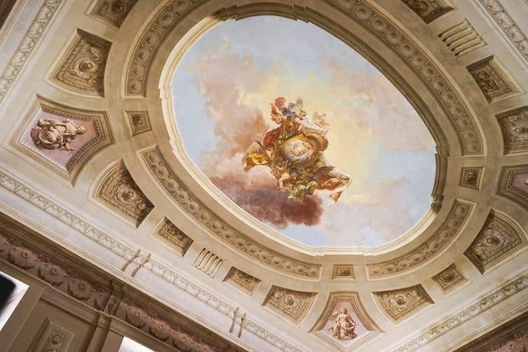 Plafond dans la Galerie de l'Académie
