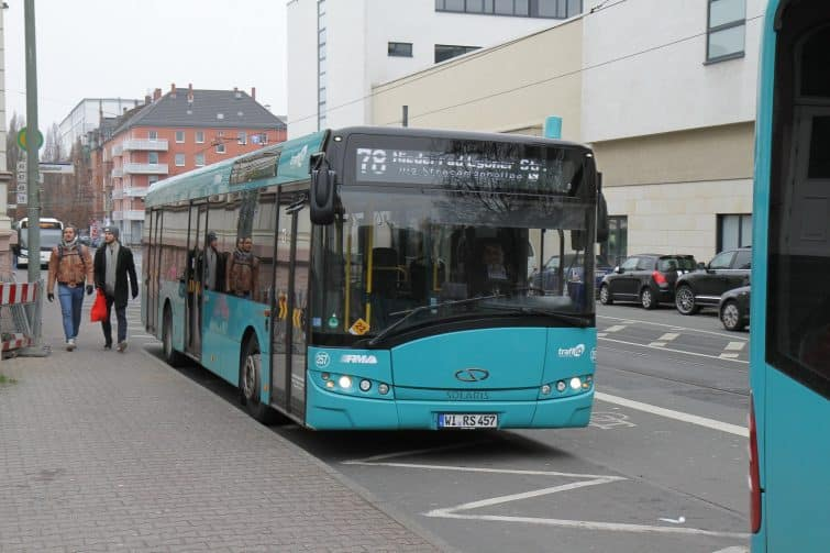 Un bus de Francfort