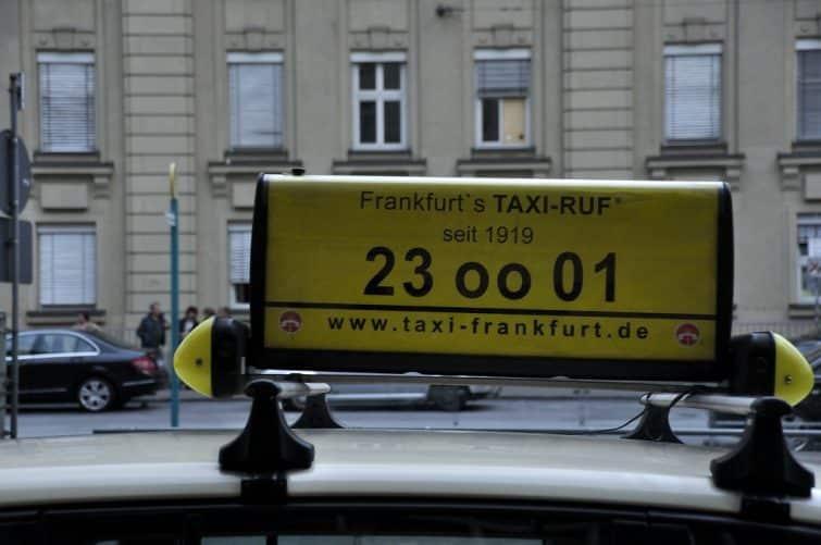 Taxi francfortois
