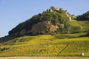 Vue du village de Château-Chalon