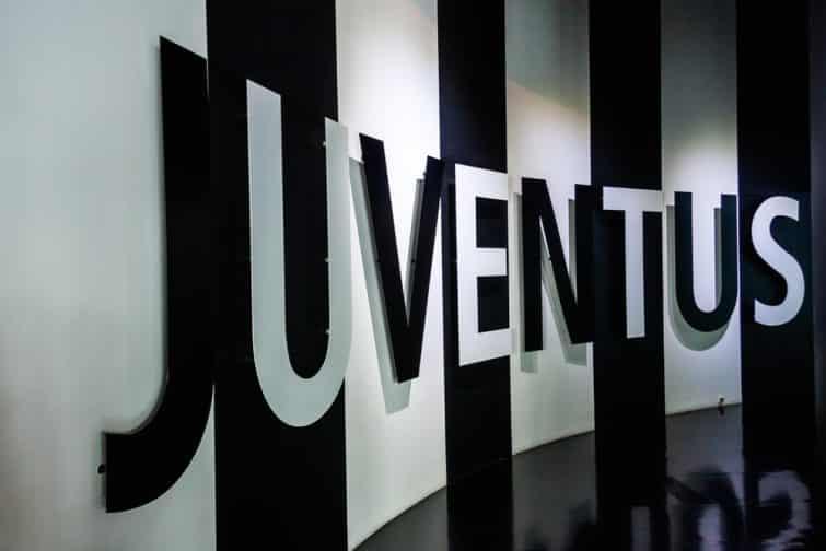 Juventus en lettres
