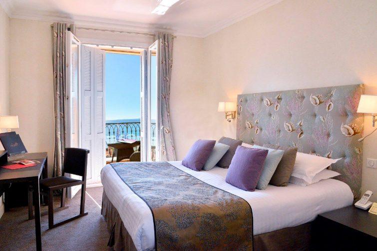 Chambre avec vue, Hôtel La Pérouse, Nice