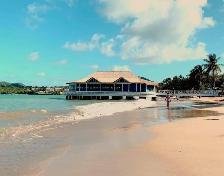 La Toc Beach, Castries, Sainte-Lucie