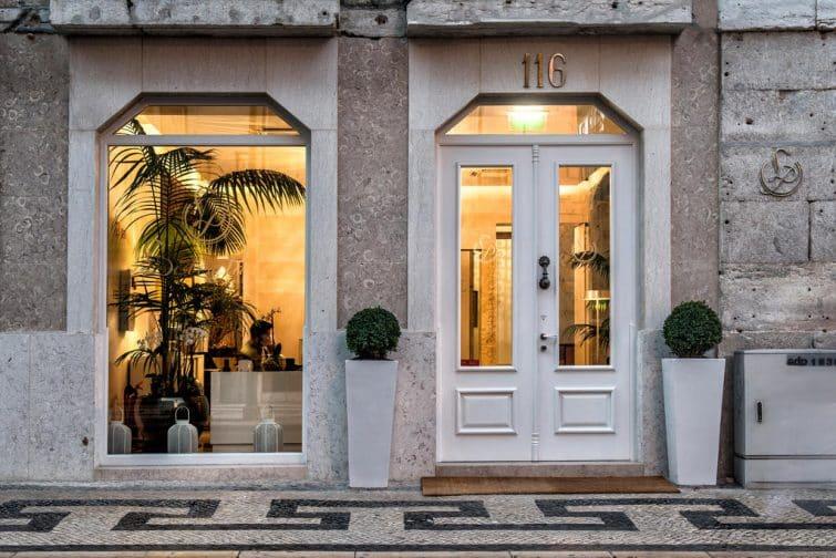 Devanture de Lisboa Prata Boutique Hotel