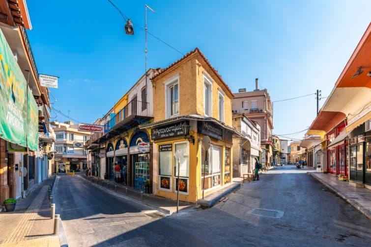 Centre ville de Chios
