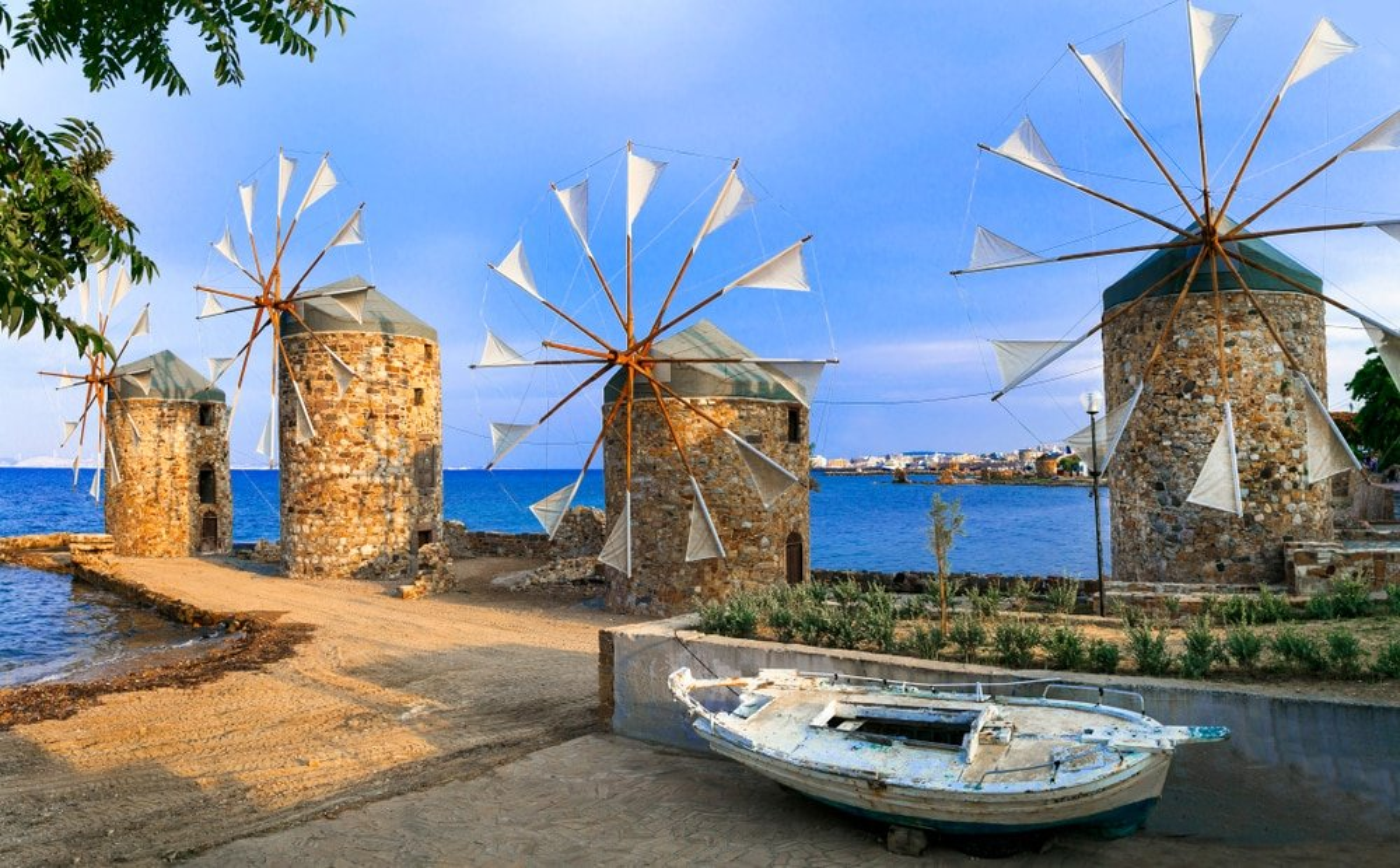 Moulins à Chios