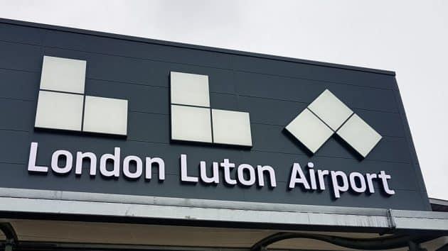 Transfert entre l'aéroport de Luton et le centre de Londres