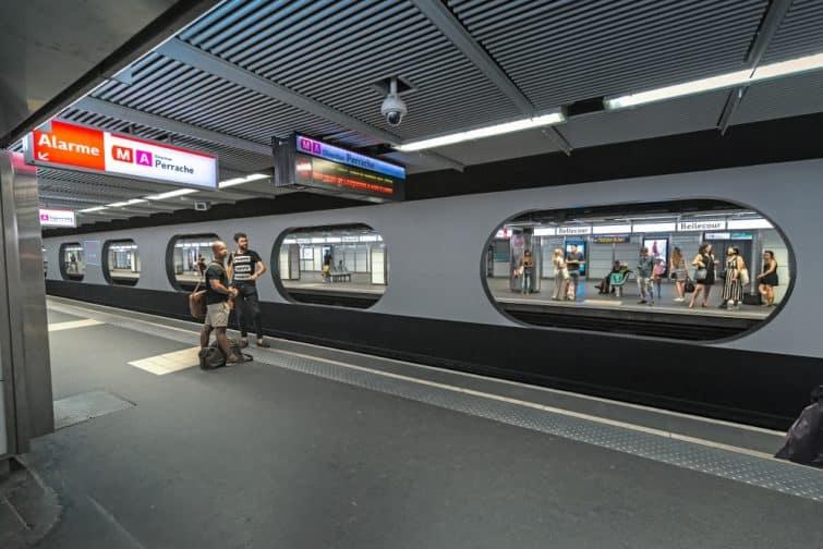 Métro A de Lyon