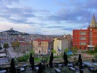 Vue depuis l'InterContinental Marseille