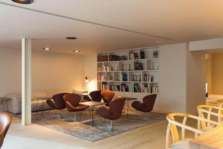 Salle de repos à l'hôtel Memmo Alfama, Lisbonne