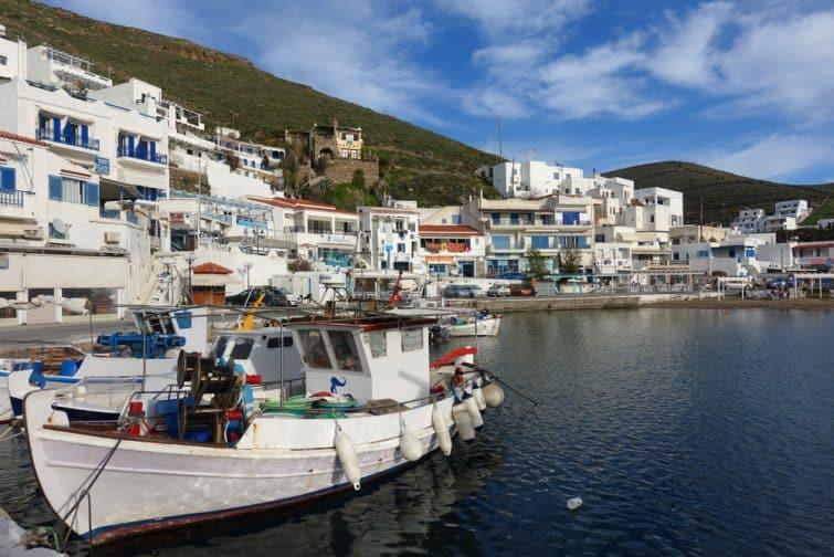Port de Merihas, Kythnos