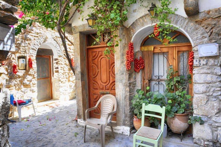 Village de Mesta, Chios